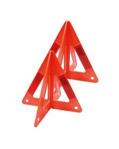 "Triángulos Reflejantes 10"" (1 par)"