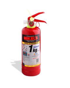 Extintor de emergencia recargable 1 kg