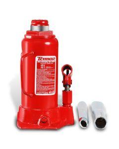 Gato hidráulico de botella con tornillo de extensión12 t