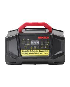 Cargador baterías automático con arrancador (2/10/50 amp)