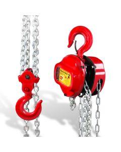 Polipasto manual 2 t cadena 3 mts