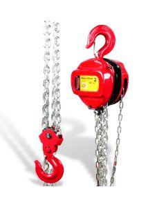 Polipasto manual 3 t cadena 3 mts
