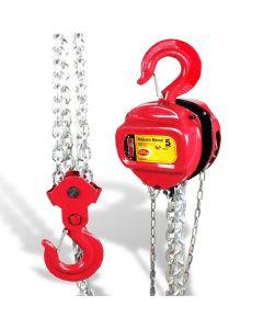 Polipasto manual 5 t cadena 3 mts