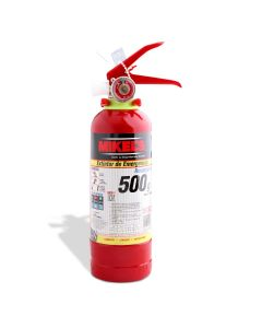 Extintor de emergencia recargable 500 g