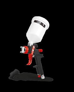 Pistola de aire para pintar HVLP gravedad