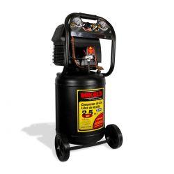 Compresor de aire 2.5 hp (50 lts) LIBRE DE ACEITE
