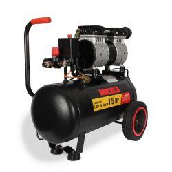 Compresor de aire 1.5 HP (24 lts) LIBRE DE ACEITE