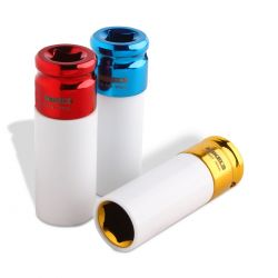 Dados de impacto Juego 3 piezas (17 mm, 19 mm & 21 mm)
