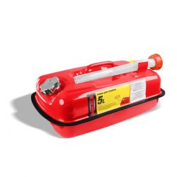 Tanque metálico para gasolina 5 lts