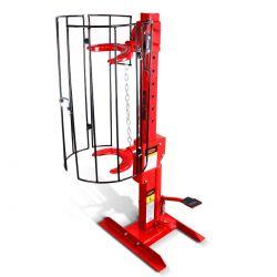Opresor de resortes hidráulico vertical fijo 1 ton