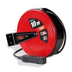 Carrete con extensión eléctrica (10 m)