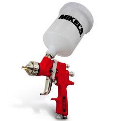 Pistola de aire para pintar boquilla 1.4mm 600ml