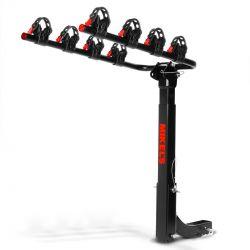 Rack para 4 bicicletas montaje en tirón