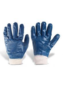 Guantes para trabajo de nitrilo con forro de algodón