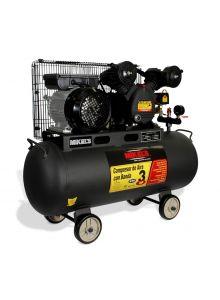 Compresor de aire 3 HP con banda (60 lts)