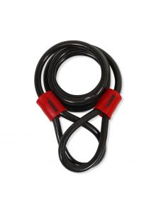 Cable candado flexible de seguridad, doble lazo (1.2 mts)