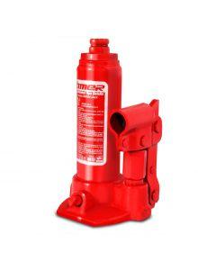 Gato hidráulico de botella con tornillo de extensión 2 t