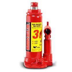 Gato hidráulico de botella con tornillo de extensión 3 t