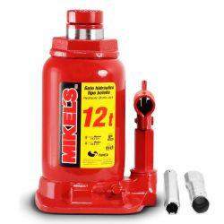 Gato hidráulico de botella con tornillo de extensión 12 t