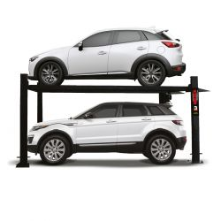 Elevador rampa para estacionamiento 4 postes (3,000 kg)