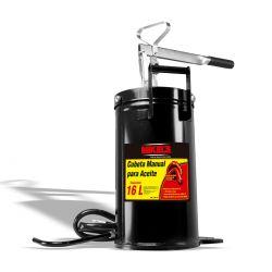 Cubeta manual para aceite 16 lts
